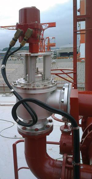 Rotork valve actuation enables advanced oil tanker VOC